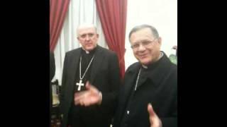 El Patriarca latino de Jerusalén recibe al Consejo Episcopal de Valencia