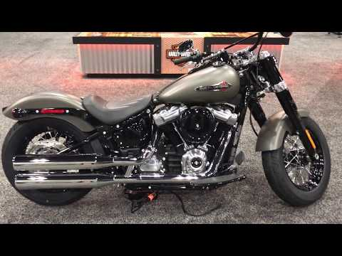 2018 Softail Slim in Industrial Gray | San Diego Harley-Davidson