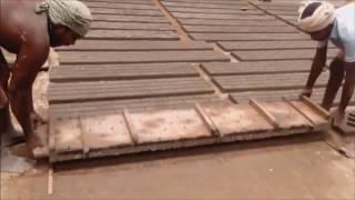 видео Декоративный забор из бетона создание и монтаж своими руками
