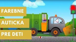 Farebne Auticka Pre Deti: Naucna Hra Dopravne Prostriedky - VROOM!