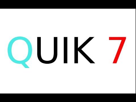 Настройка Quik 7 (Новый Quik)