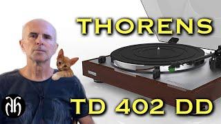 Thorens TD 402 DD kutu açılışı ve inceleme