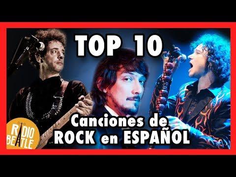Las 10 Canciones Más ICÓNICAS de ROCK en ESPAÑOL | Radio-Beatle