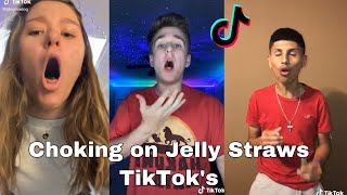 Choking on Jelly Straws TikToks