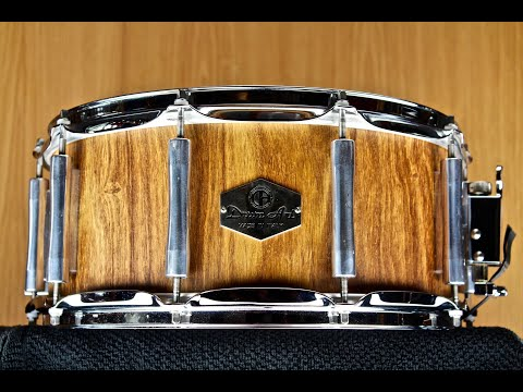 Drum Art Supreme Series Snare Drum 6,5x14 African Rosewood Solid Hand Carved Shell
