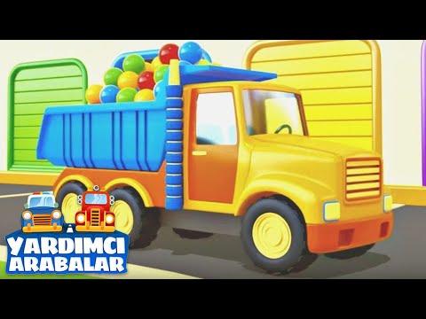 Eğitici çizgi film - Yardımcı arabalar - Topları topluyoruz!