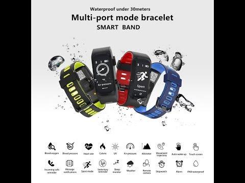 unboxing y review smartband AOSMAN GPS Sportwatches A07  muy economica de alixpress