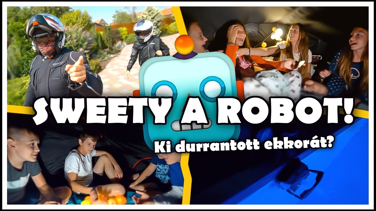 SWEETY A ROBOT!