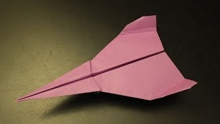 How to make a simple but cool paper plane origami in 3 minutes