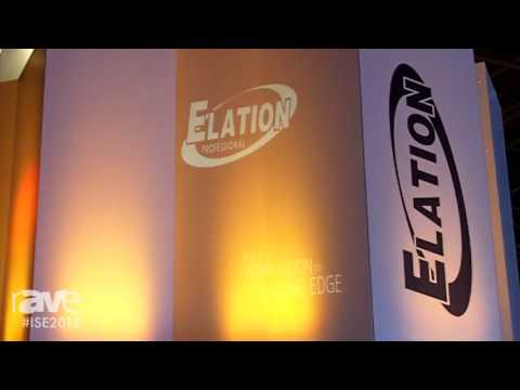 ISE 2016: Elation Professional Discusses Emotion Projector and Media Server