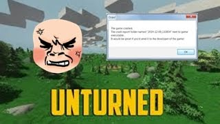 Unturned - The game crashed (RESOLVIDO)