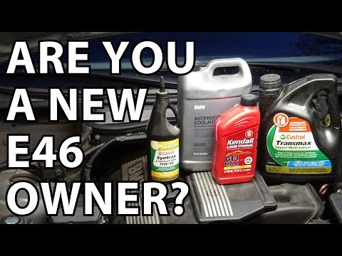 BMW E46 Maintenance & Tune Up: What To Do After You Buy An E46