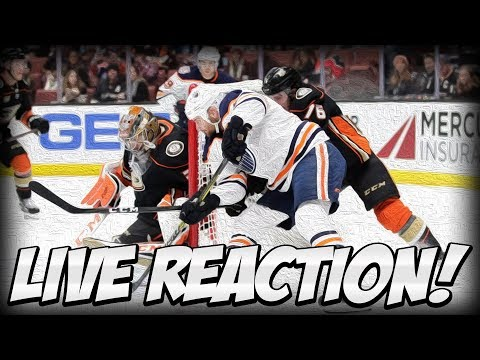 Edmonton Oilers Vs Anaheim Ducks Live Game Reaction Stream | Oilers Fan Discussion