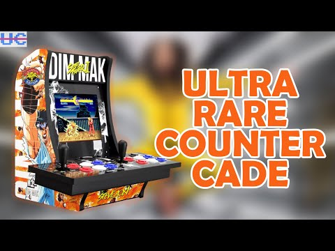 The Rarest Arcade1up: Only 30 Made 2 Player Steve Aoki Street Fighter Countercade from Unqualified Critics