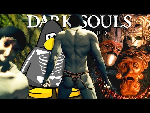 Dark Souls REMASTERED: EVIL RETURNS and goes into the catacombs (#3)