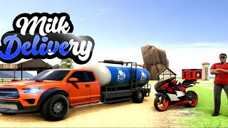 Milk Transport Van Driver - Milk Delivery Games Android screenshot 4