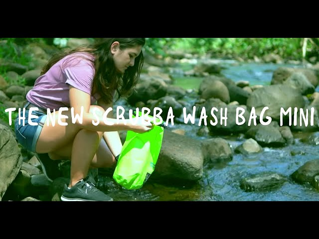 Introducing the new Scrubba Wash Bag MINI for ultralight travel