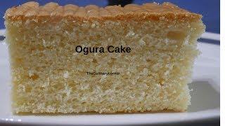 Soft and Spongy Ogura Cake