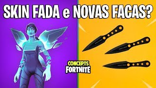 FORTNITE Concepts-NEW SKIN FAIRY and NEW THROWING KNIVES?