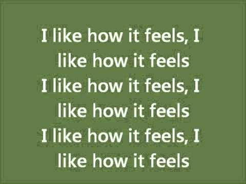 I like the way it feels enrique iglesias lyrics
