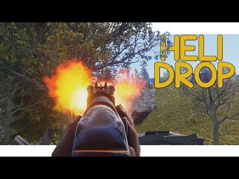 Rust - Attacking The Heli Drop! thumbnail
