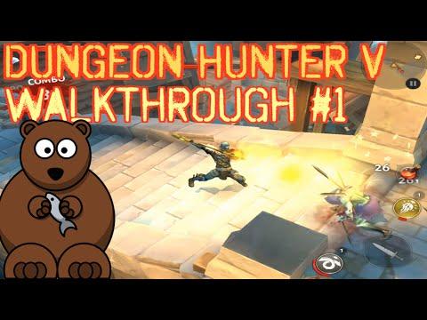 Dungeon Hunter 5 Walkthrough #1: The Persistent Bounty