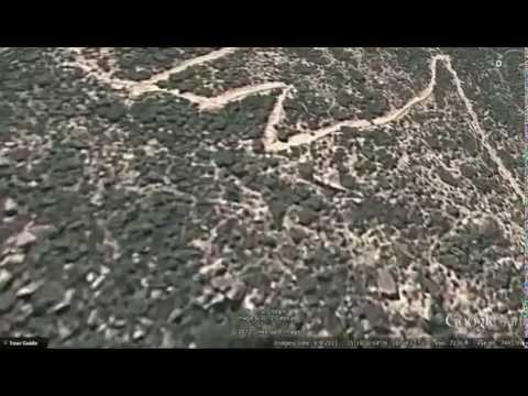 Google Earth Tour: Eritrea, Debre Bizen climb from Nefasit
