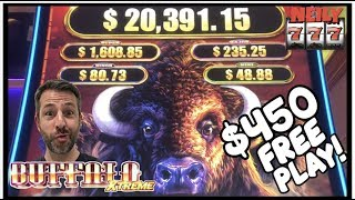 HOW MUCH MONEY CAN I MAKE OFF OF $450 IN FREE PLAY?