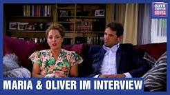 GZSZ Interview: Maria Wedig und Oliver Franck sprechen über das schwierige Thema häusliche Gewalt