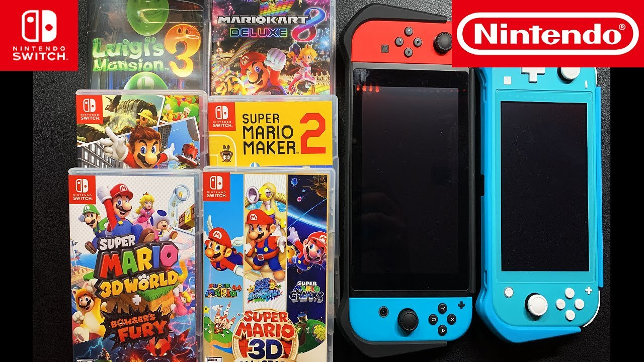 My TOP 6 Mario Nintendo Switch Games | What's Yours ?