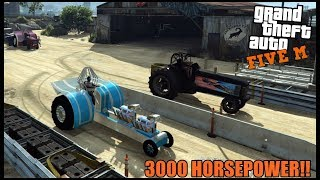 GTA 5 ROLEPLAY - TWIN MOTOR 3000 HP PROMOD TRACTOR - EP. 682 - CIV