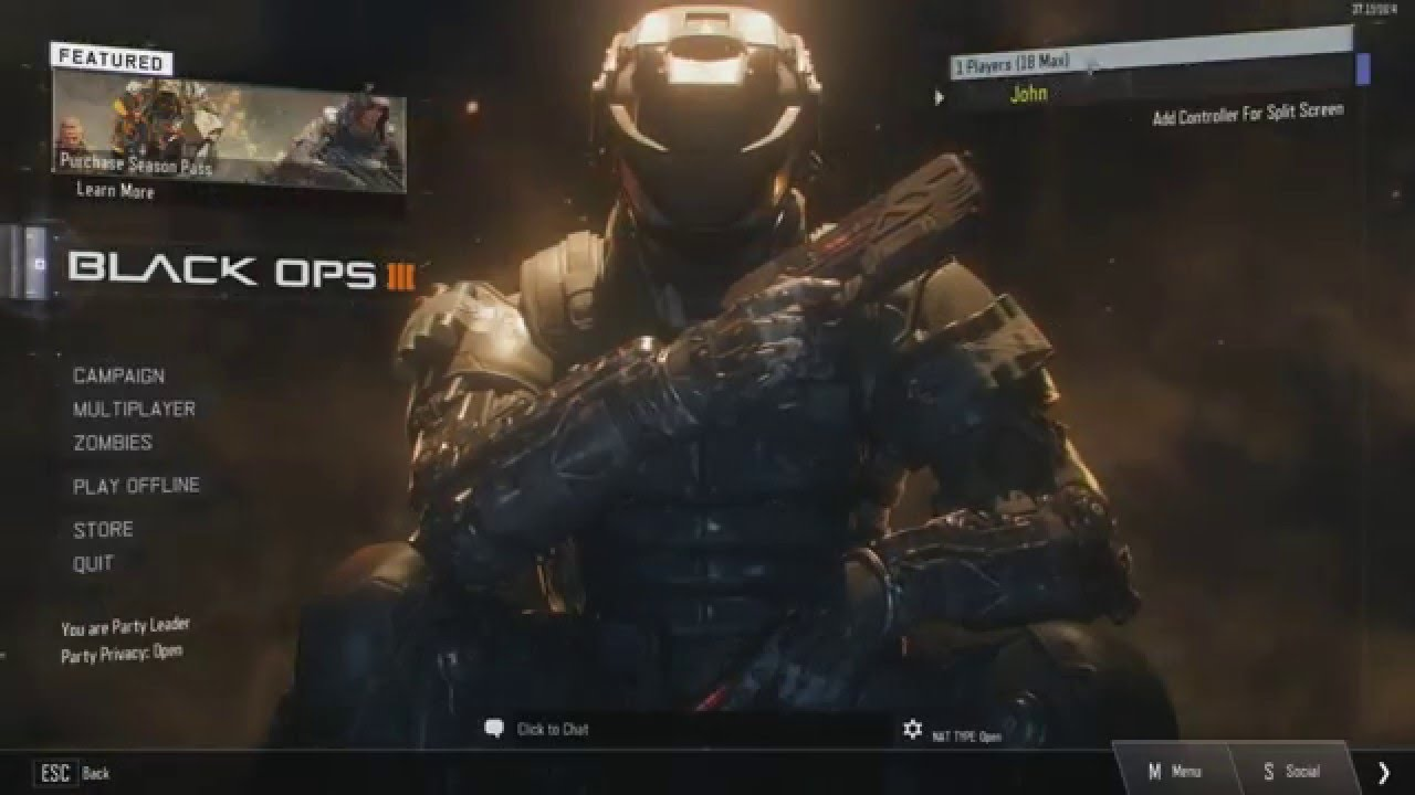 Bo3 Error The Lobby Is Not Joinable Pc Youtube