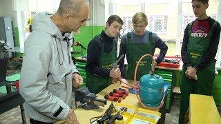 У Ковельському професійному ліцеї відкрили новий  навчально-практичний центр підготовки учнів