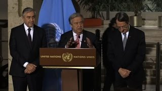 Cyprus deal 'close' but don't expect miracles: Guterres