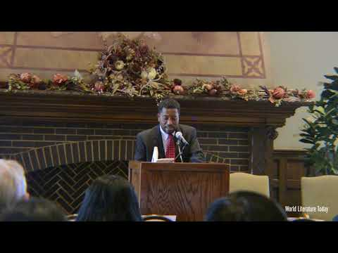 2017 Neustadt Festival Poetry Readings: Major Jackson reads his poem Mighty Pawns