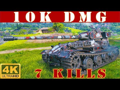 ✔️ Pz.Kpfw. VII WoT ◼️ 10K Damage • 7 Kills ◼️ WoT Replays Gameplay