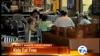 Kids eat free promotions