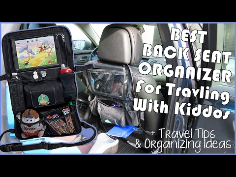 best backseat car organizer for kids roadtrips plus organizing tips roadtrip toy ideas