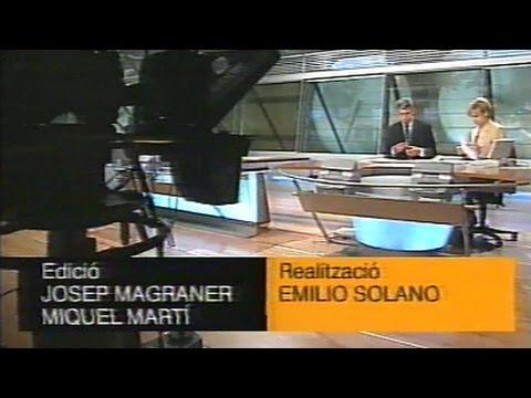 RTVV - Canal 9 - Notícies Nou - Titulars + Errada tècnica - Febrer del 1999