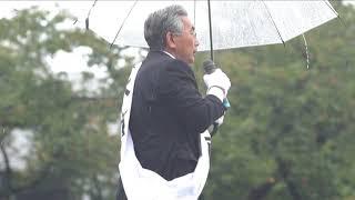 10/21 衆院選東京21区 天木直人候補 街頭演説ハイライト