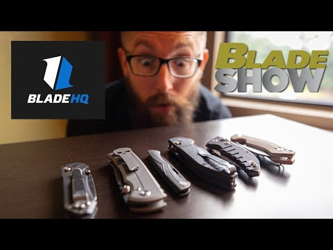Top 5 EDC knives with Zac! | Blade HQ