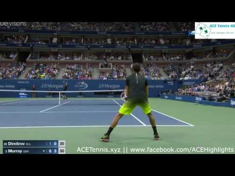 Andy Murray vs Grigor Dimitrov - US Open 2016 Highlights