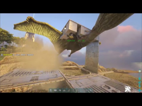 ark how to build on quetzal