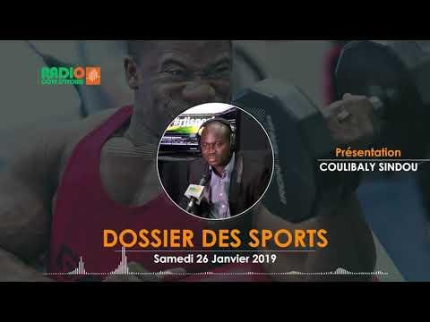 LE DOSSIER DES SPORTS DU 26 JANVIER 2019 - Radio CÔTE D'IVOIRE