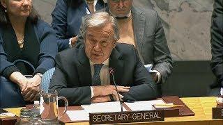UN Secretary-General on Non-Proliferation / DPR Korea - Security Council (15 December 2017) thumbnail