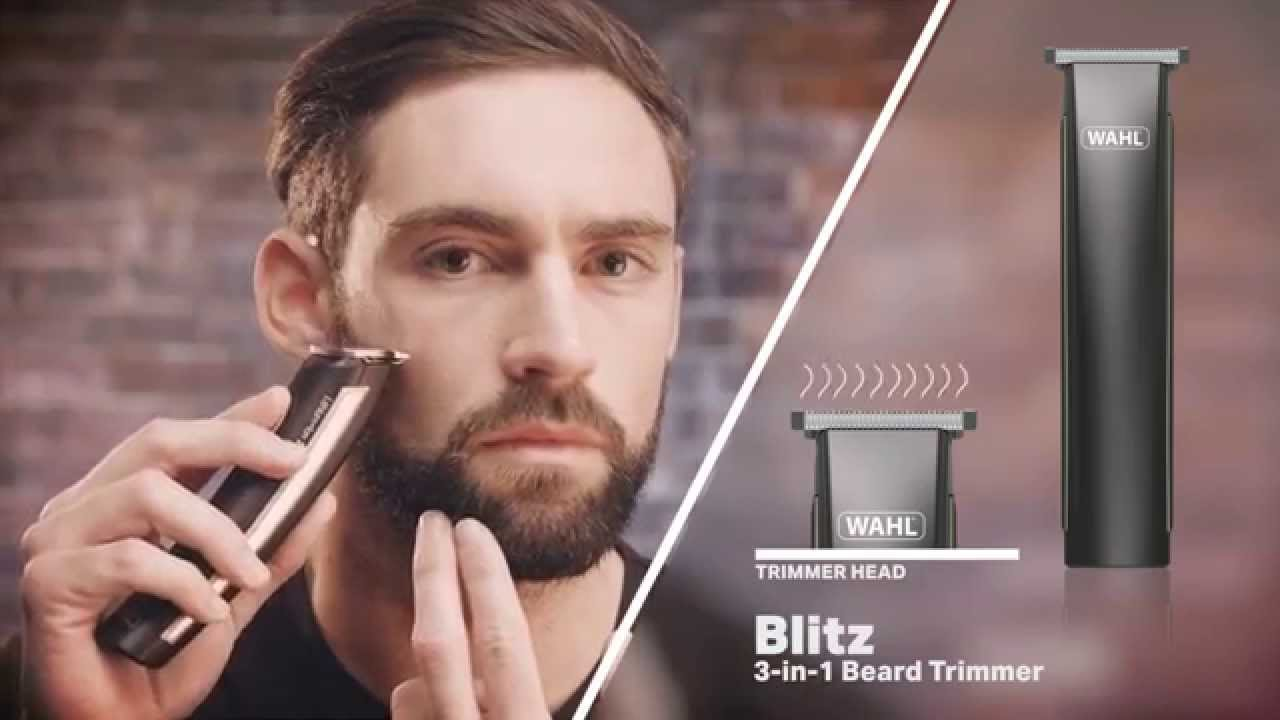 wahl blitz 3 in 1 beard trimmer youtube. Black Bedroom Furniture Sets. Home Design Ideas