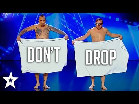 DON\'T DROP YOUR TOWEL on Romania\'s Got Talent 2018