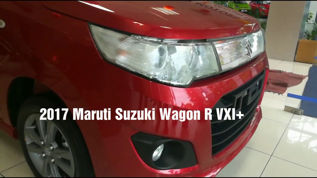 2017 maruti suzuki wagon r vxi plus