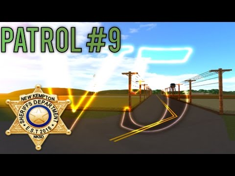 Roblox NK Sheriff Patrol part 9 -Slow Day-