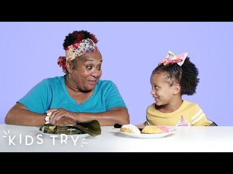 C-Rob Blog (58472) - Kids Try Their Grandparents Favorite Food
